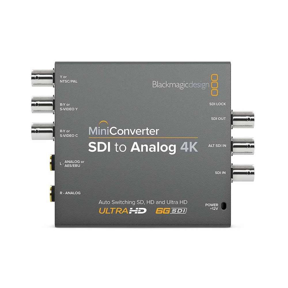 Blackmagic Mini Converter - SDI to Analog 4K - gears-of-future-gfx