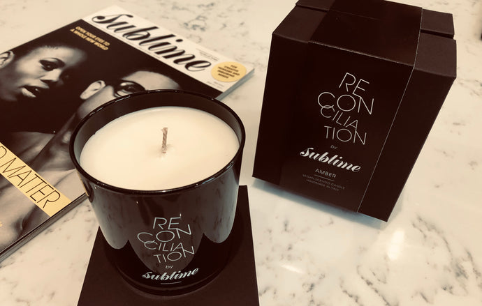 #Reconciliation Luxury Candle