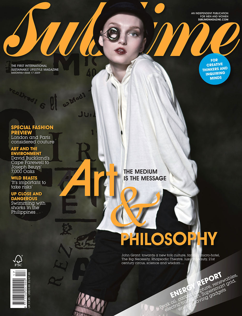 Issue 17 - Art & Philosophy