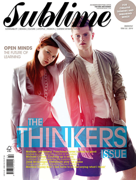 Issue 22 - The Thinkers Issue