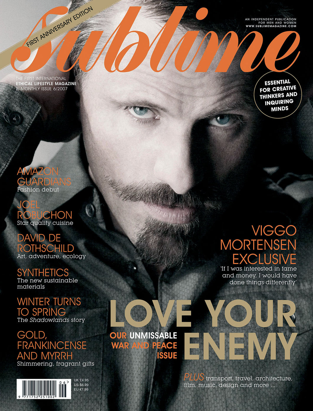 Issue 6 - Love Your Enemy