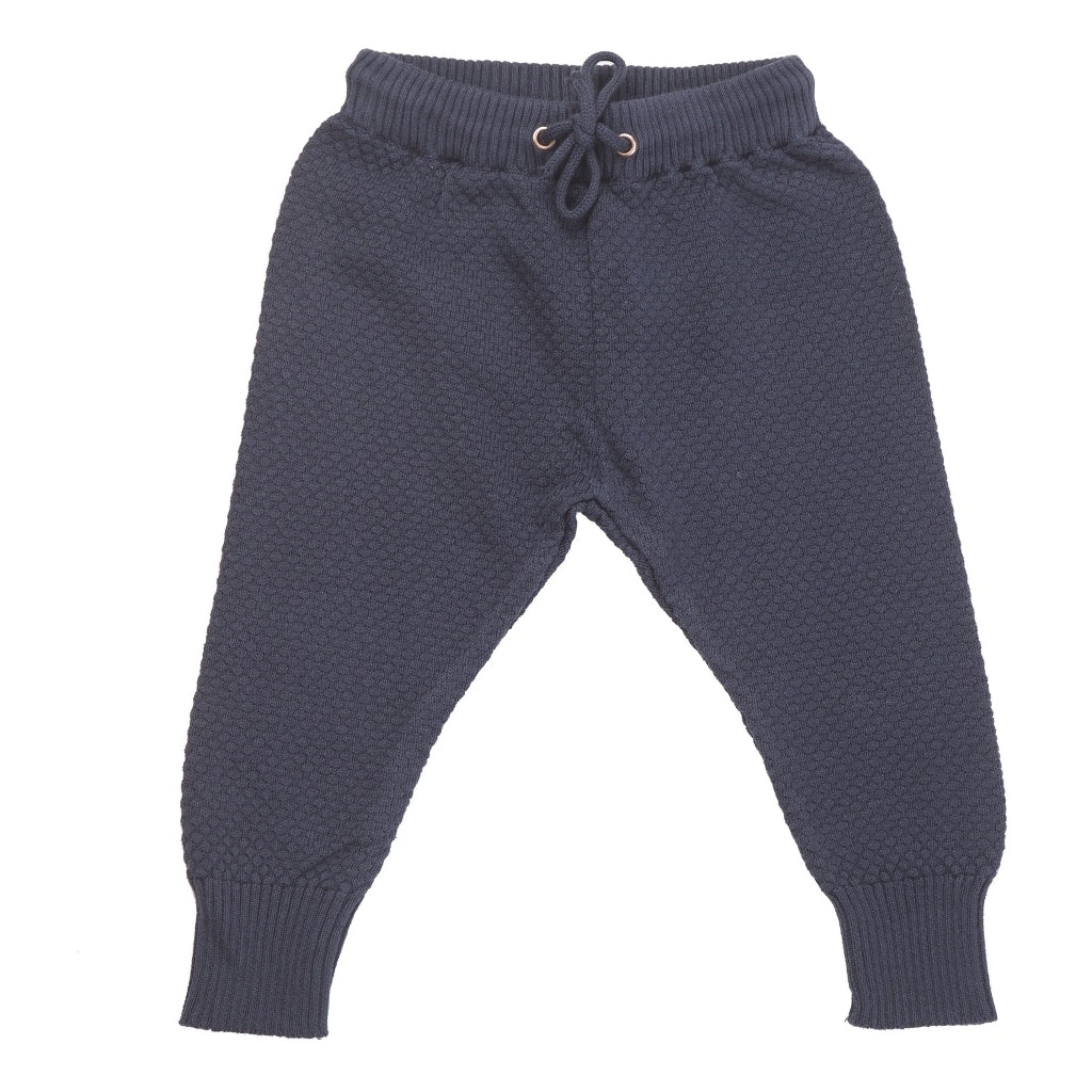Champs of Denmark Knittede Pant Pant Navy