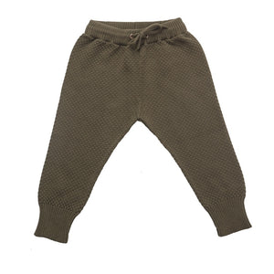 Champs of Denmark Knittede Pant Pant Olive