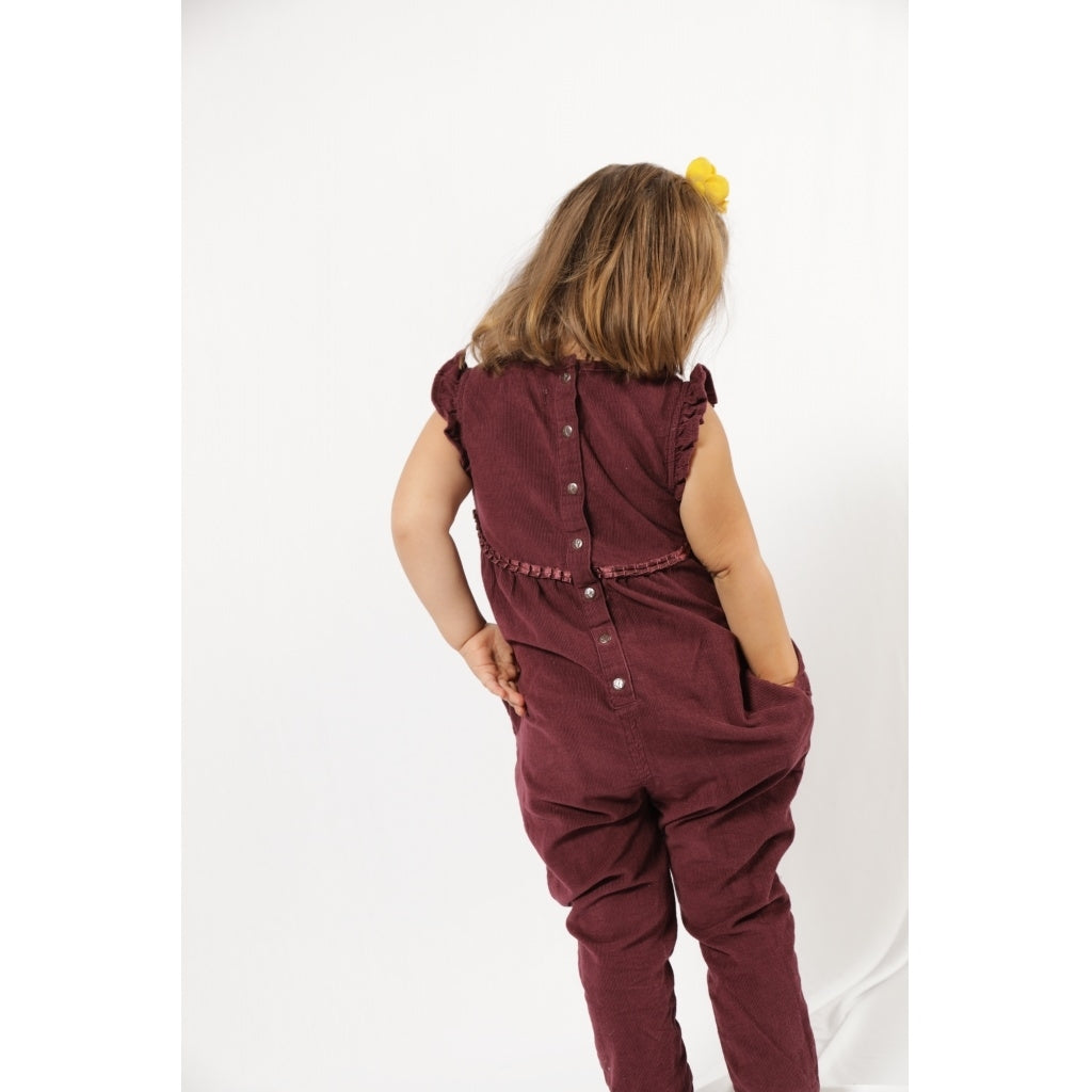 Champs of Denmark Mia Jumpsuit Jumpsuit Plum