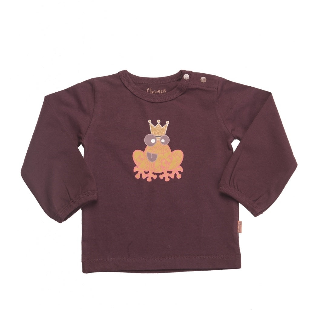 Champs of Denmark Royal Frog T Shirt T-Shirt Plum
