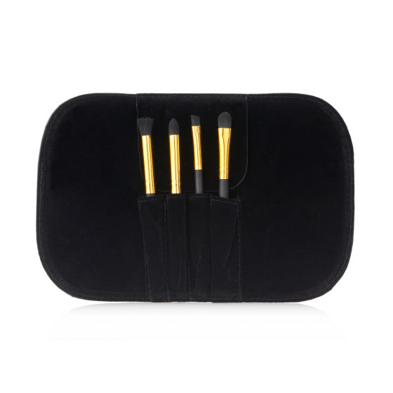 4pc Mini Eyeshadow Brush Set