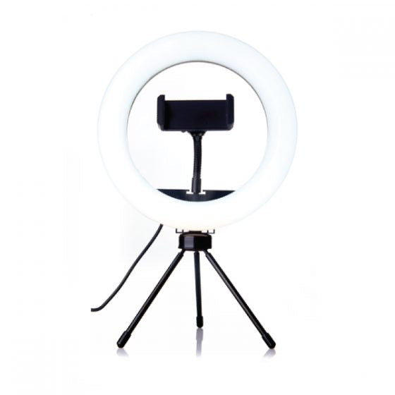 6″ PORTABLE TABLE RING LIGHT