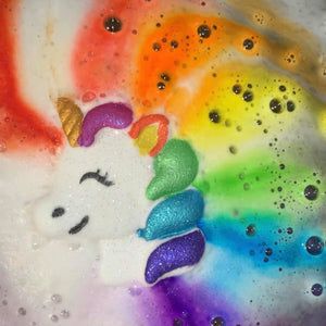 Rainbow Unicorn Bathbomb