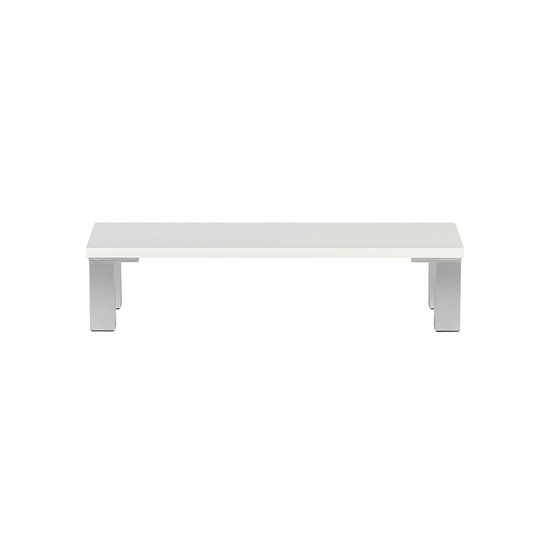 White Monitor Stand - 600mm x 200mm