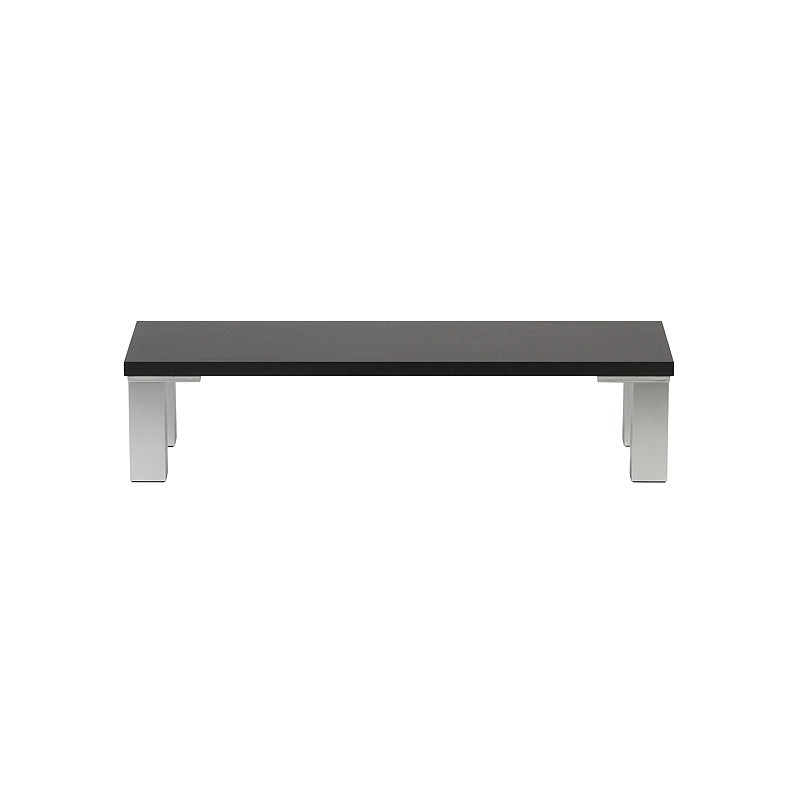 Black Monitor Stand - 600mm x 200mm
