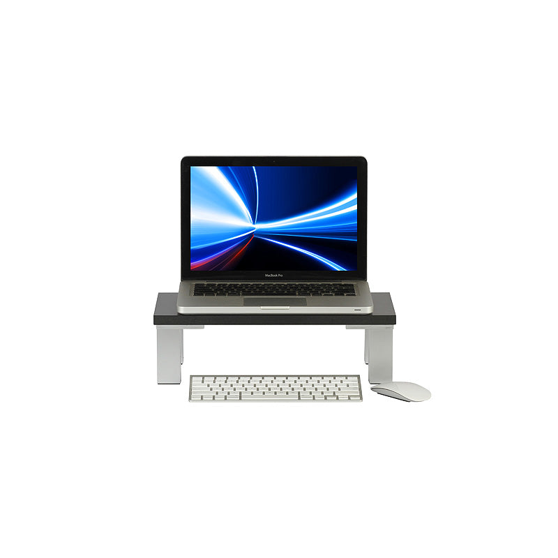 Black Monitor Stand - 400mm x 200mm