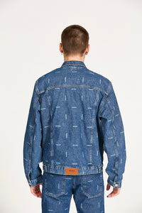 Campera Logo Laser Denim
