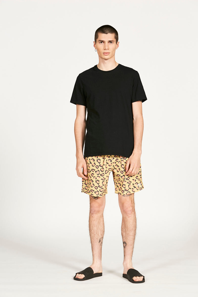 Short Surfer Leopard