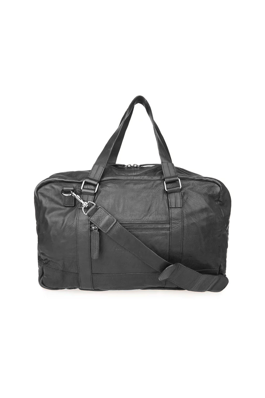 Mochila Leather Zip Weekend Bag