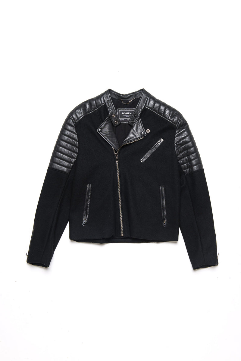 Campera Wool Leather