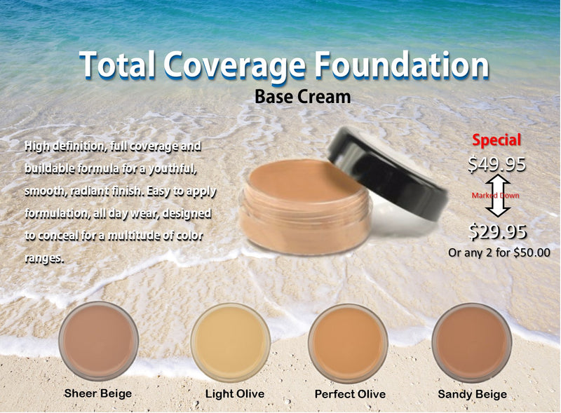 Total Coverage Foundation by Leigh Valentine