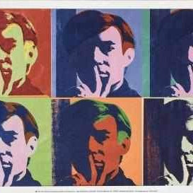 Andy Warhol Poster A Set of 6 Self Portraits - Neogalateca