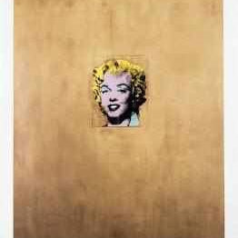 Andy Warhol Poster Gold Marylin Monroe - Neogalateca