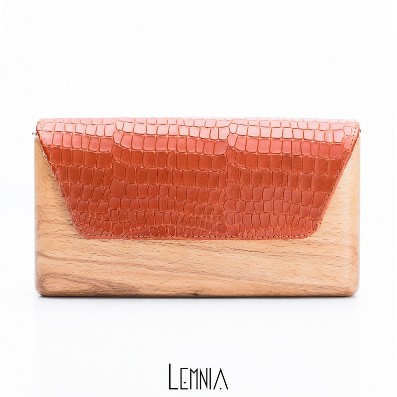 Geanta Marina Orange Lemnia - Neogalateca