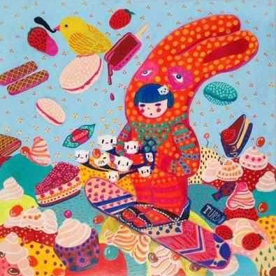 Loreta Isac Ilustratie Sweet Winter - Neogalateca