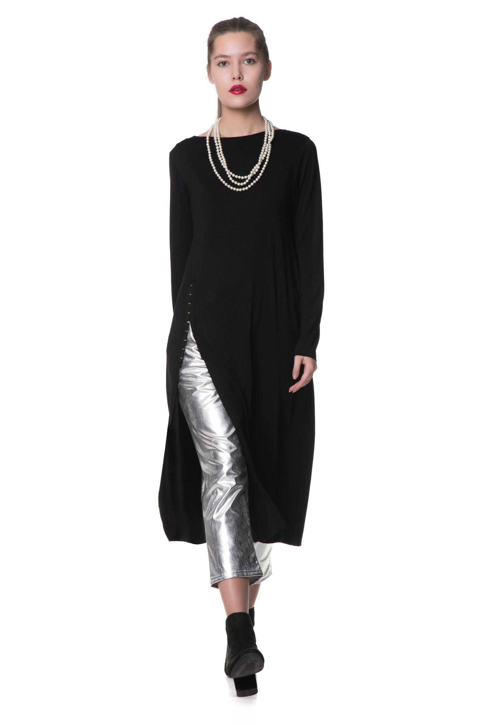 Bluza lunga Split Night Una-I-Luna