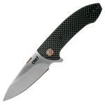 CRKT Avant Folding Knife Carbon Fibre Black G10 4620