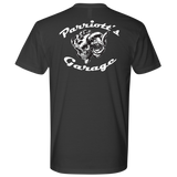 TURBO SKULL Parriotts Garage Mens Next Level T-Shirt