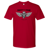 Parriott's Garage Next Level Motor Wings Mens Shirt