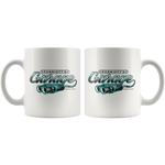 Parriott's Garage Teal 11oz Mug