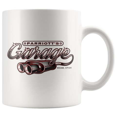 Parriott's Garage Red 11oz Mug