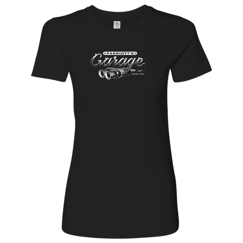 Parriott's Garage Next Level Womens Shirt