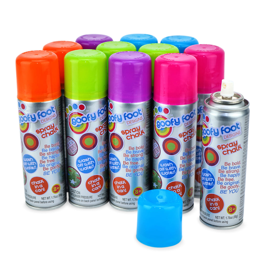 Washable Spray Chalk - 12 Pk Small