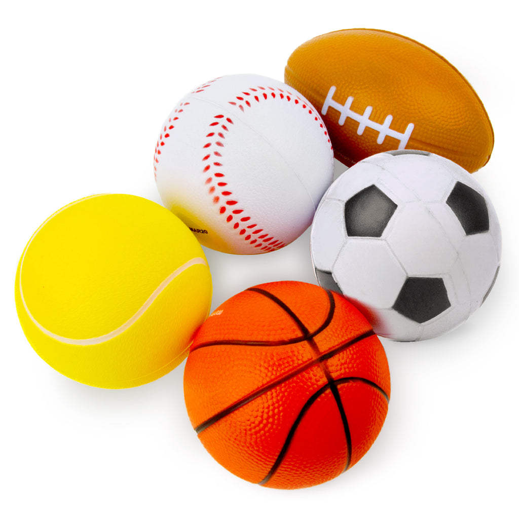 Soft Sports Ball Set - 5 PK