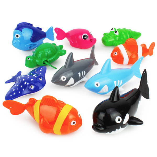 Wind Up Sea Animals Bath Toys