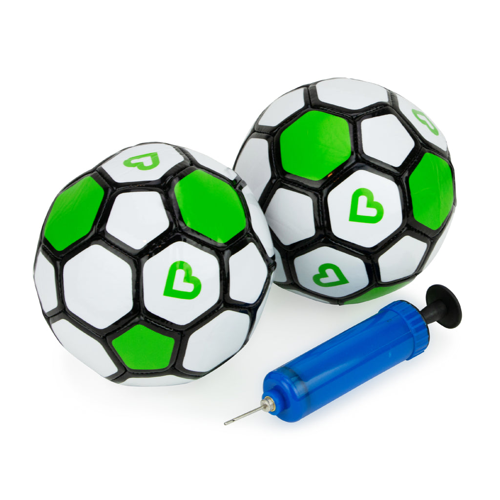 Soccer Ball w/ Pump - 2 PK