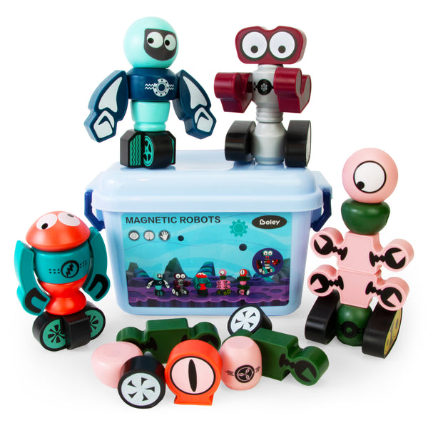 Magnetic Robot Set