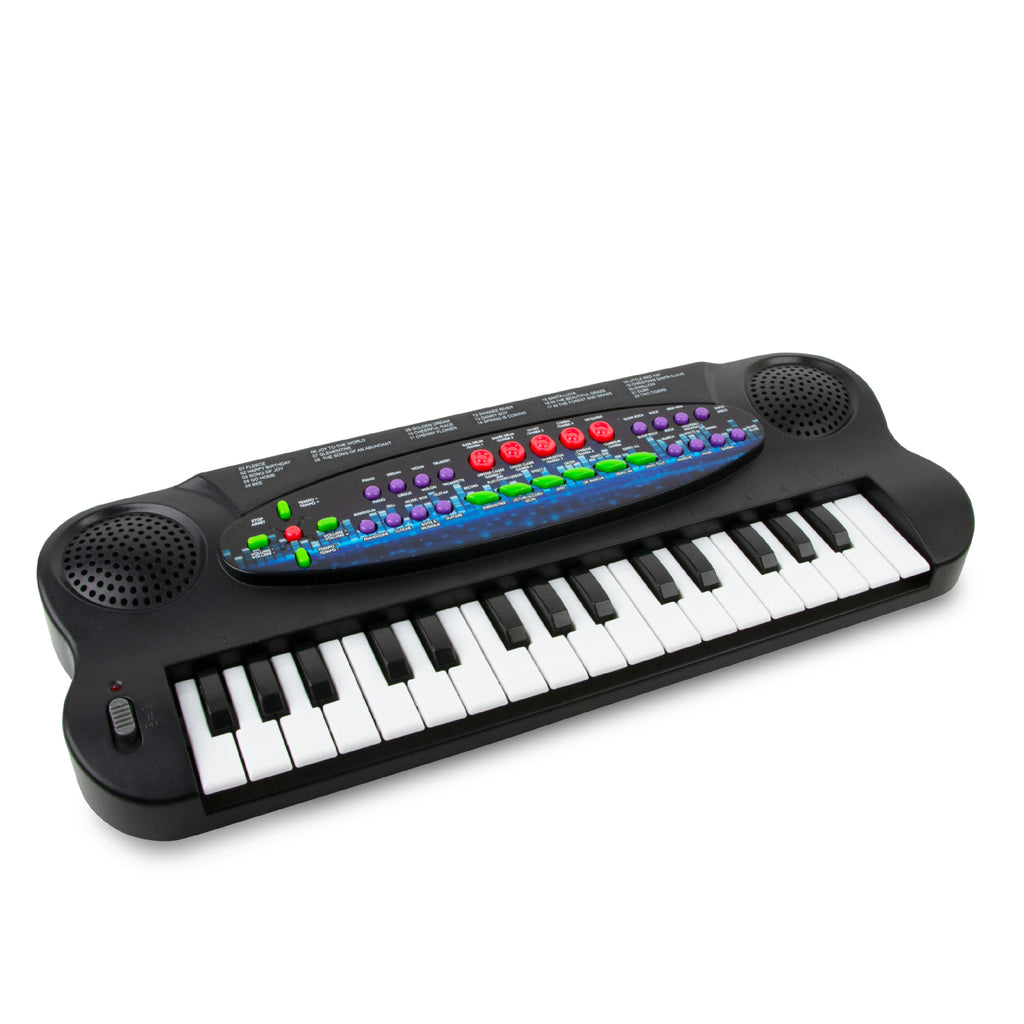 Electronic Keyboard - Black