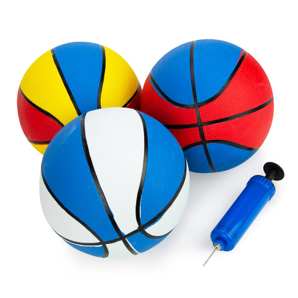 Rubber Basketball with Pump