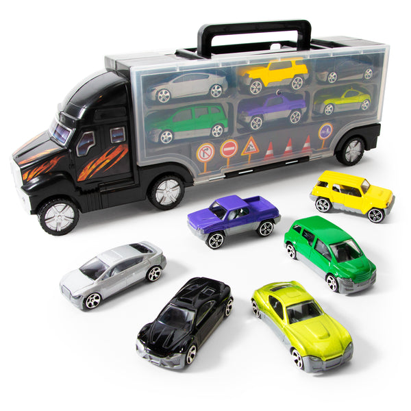 Die Cast Car Truck Carrier