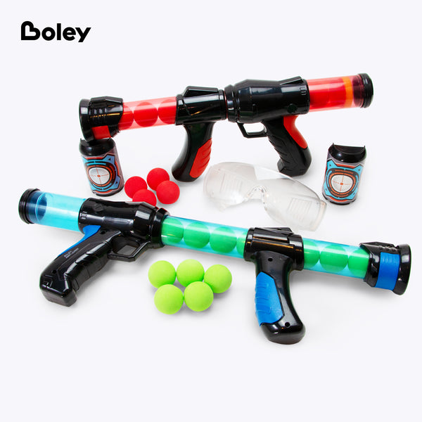 Foam Ball Blasters with Goggles - 2 PK