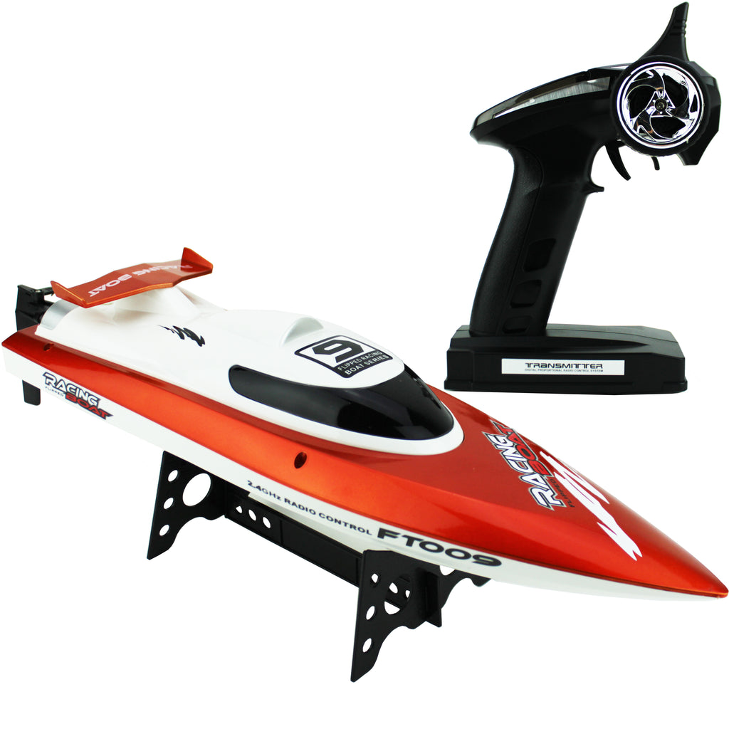 Remote Control Race Boat - Orange