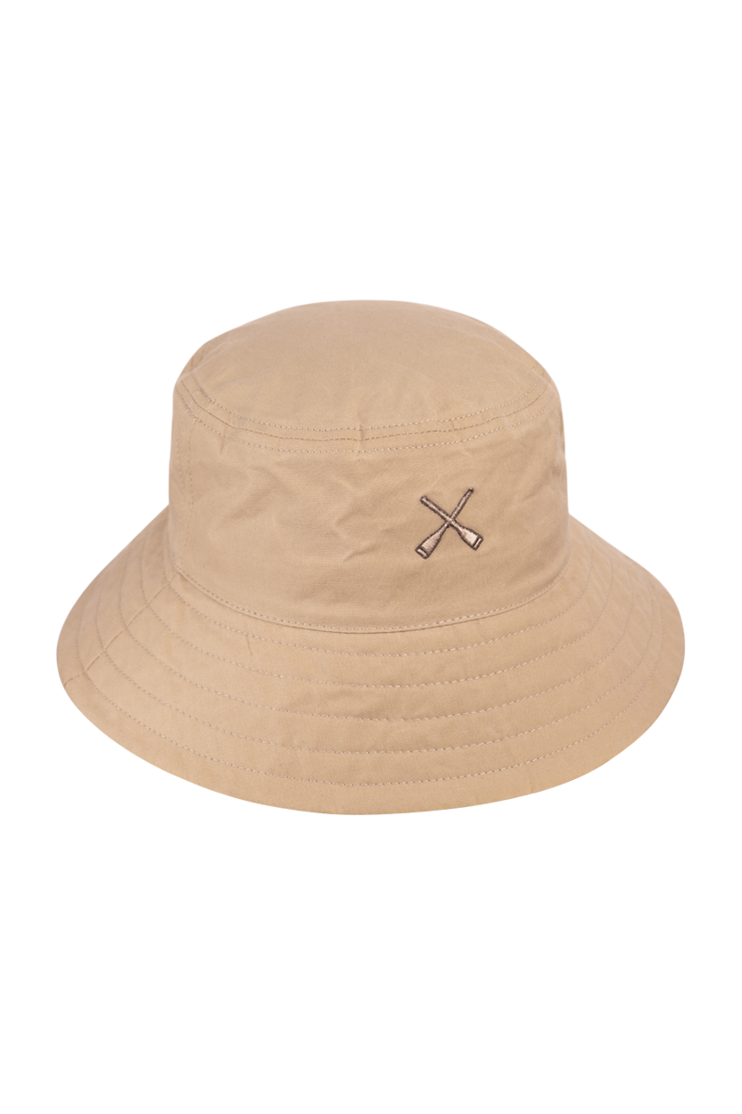 BUCKET HAT BEIGE WATERPROOF