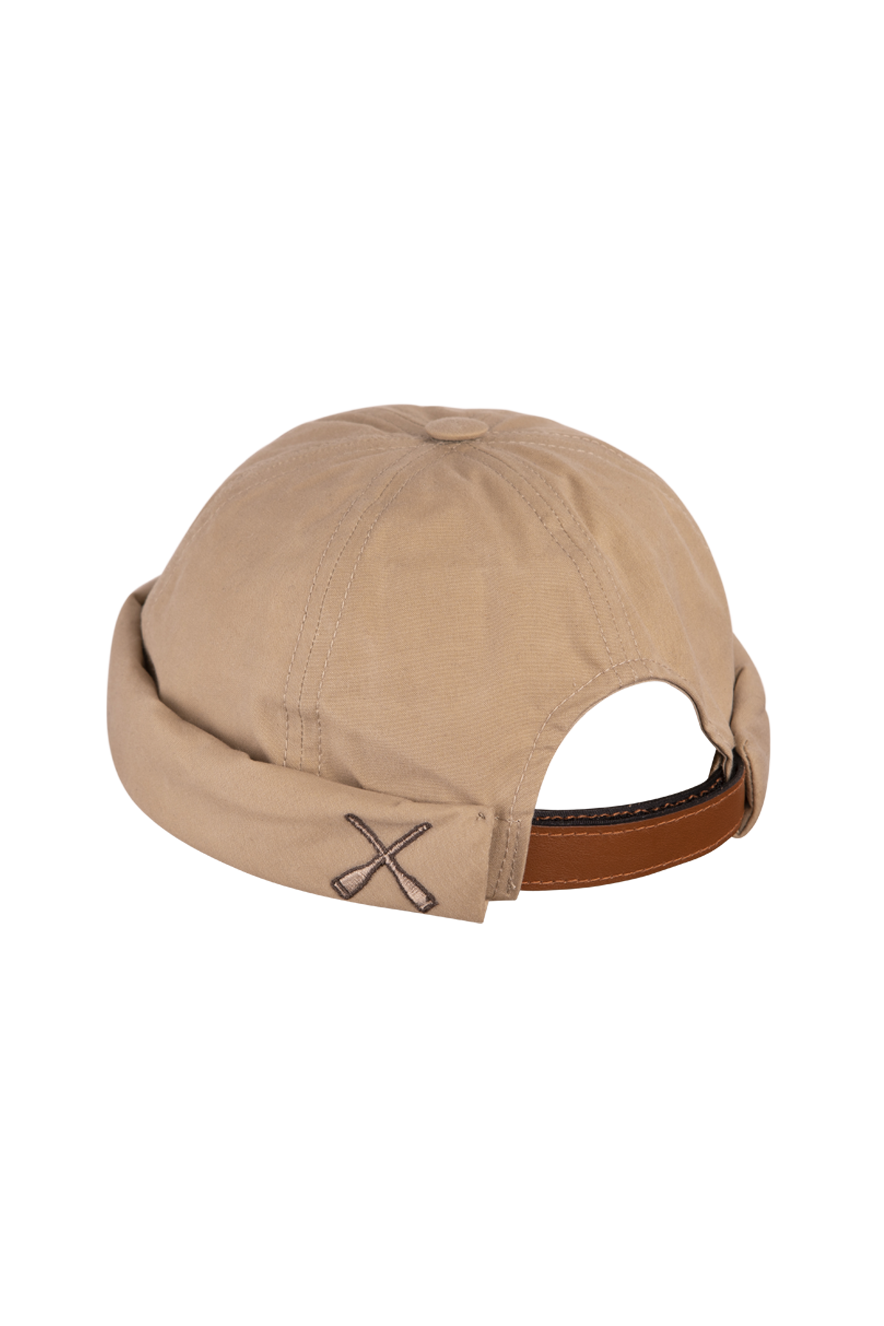MIKI DOCKER BEANIE BEIGE WATERPROOF