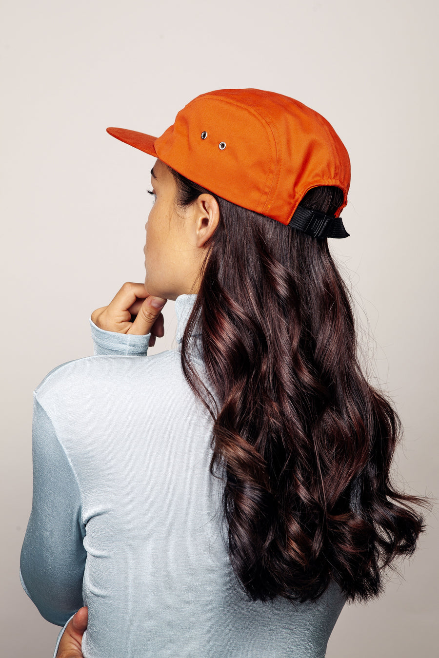 CITY CAP SNAPBACK ORANGE 5 PANELS