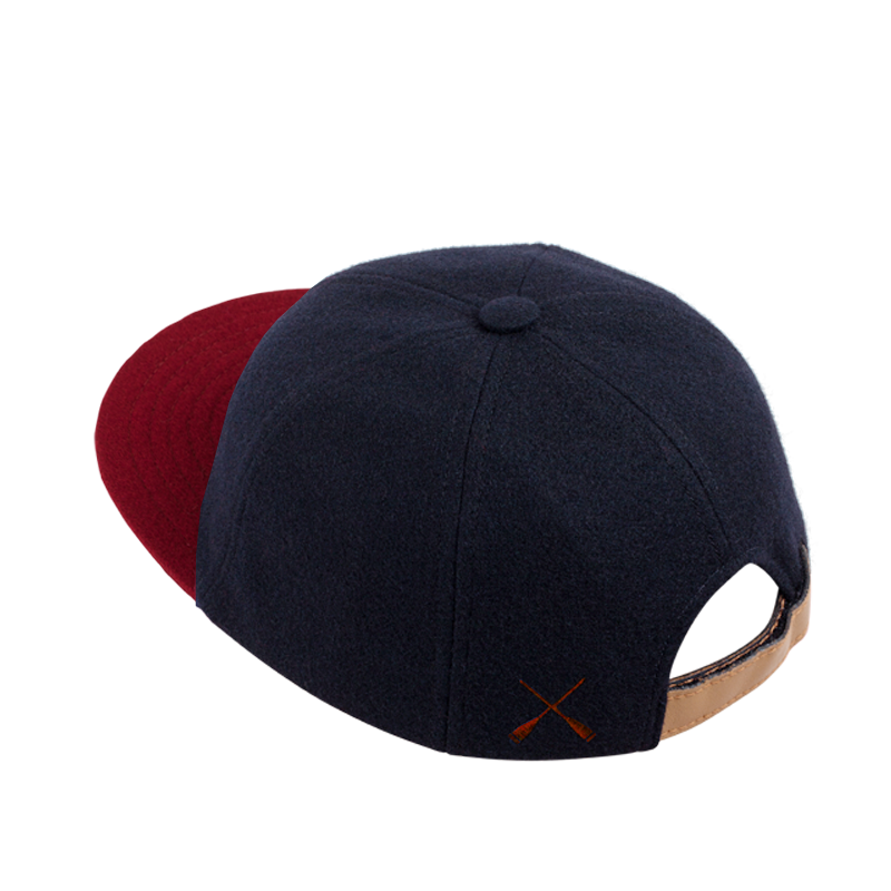 CITY CAP BLUE & RED WOOL