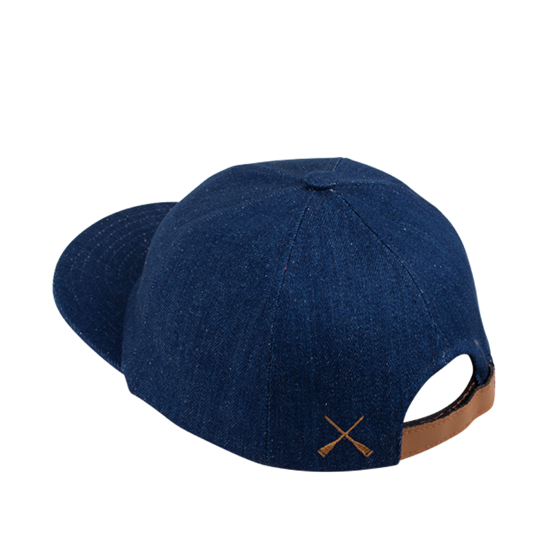 CITY CAP CURVED BLUE DENIM RECYCLED