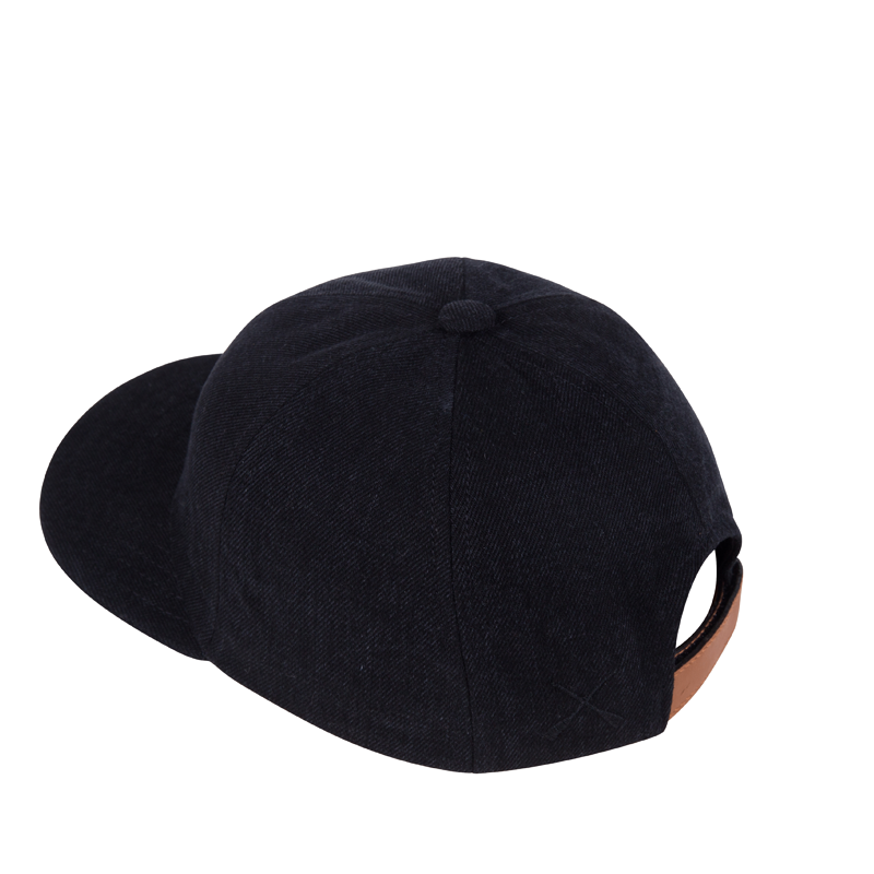 CITY CAP BLACK DENIM