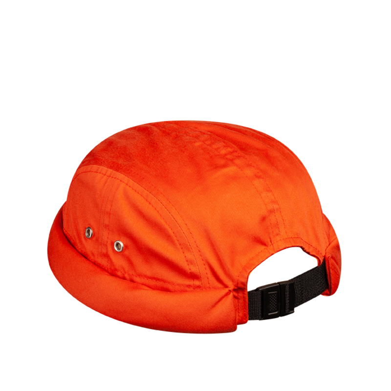 MIKI DOCKER BEANIE 7 PANELS ORANGE