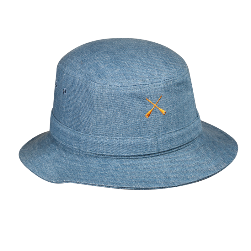 BUCKET HAT ADVENTURE BLUE DENIM WASHED
