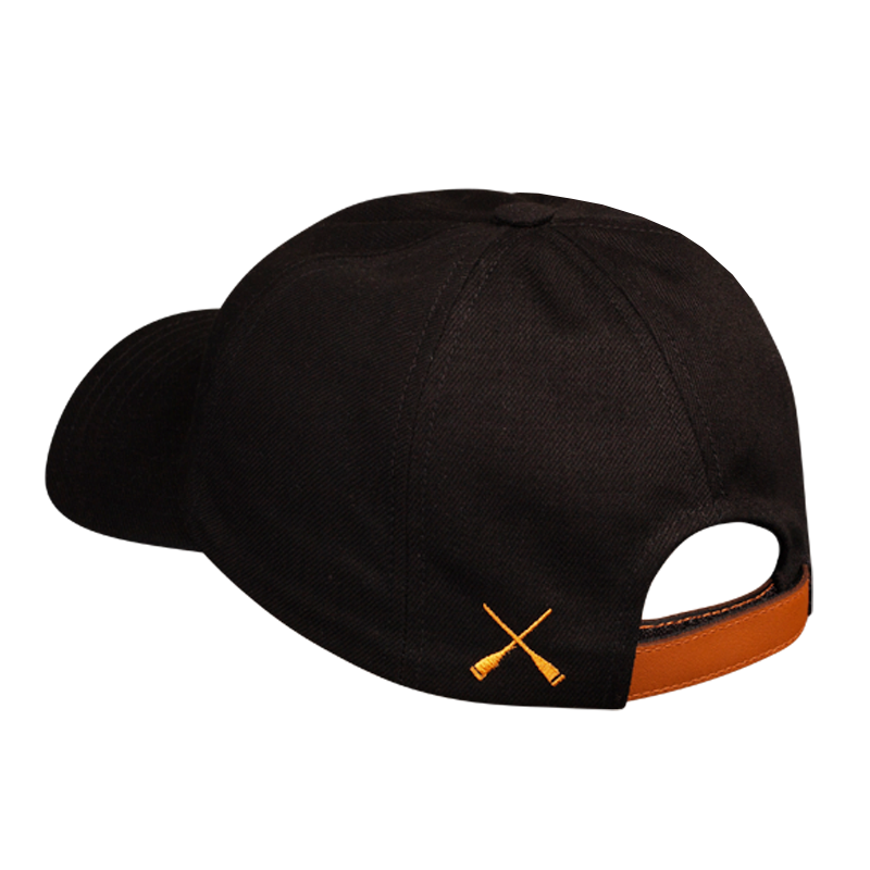 CITY CAP CURVED BLACK DENIM